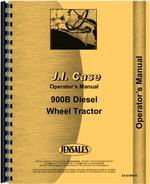 Operators Manual for Case 900 Tractor