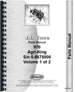 Parts Manual for Case 970 Tractor