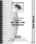Parts Manual for Case 990 Tractor