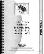 Parts Manual for Case 996 Tractor