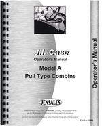 Operators Manual for Case A Combine