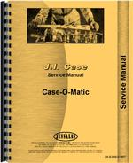Service Manual for Case CASEOMATIC Tractor