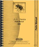 Parts Manual for Case CC Tractor