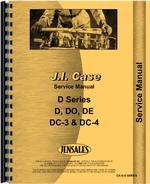 Service Manual for Case DE Tractor
