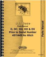 Parts Manual for Case DH Tractor