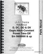 Parts Manual for Case DV Tractor