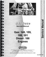 Service Manual for Case G159 Engine