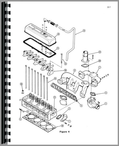 Service Manual for Case G159 Engine Sample Page From Manual
