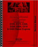 Service Manual for Case-IH 385 Engine