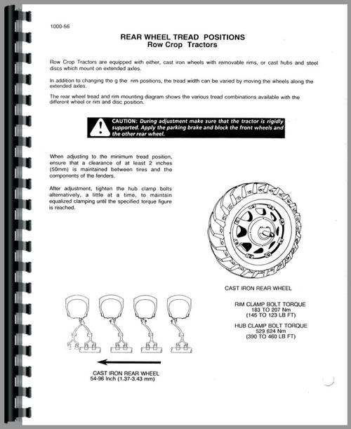 Service Manual for Case-IH 485 Tractor Sample Page From Manual