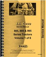 Service Manual for Case-IH 885 Tractor