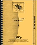 Parts Manual for Case R Tractor