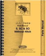 Parts Manual for Case SO Tractor