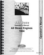 Operators Manual for Case Steam Tractor