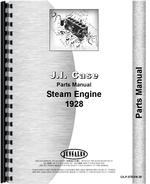 Parts Manual for Case Steam Tractor