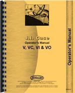 Operators Manual for Case VO Tractor