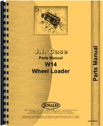 Parts Manual for Case W14FL Forklift