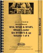 Service Manual for Case W14FL Wheel Loader