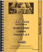 Service Manual for Case W20C Wheel Loader