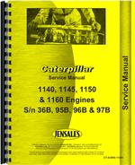 Service Manual for Caterpillar 1150 Engine