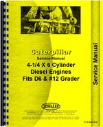 Service Manual for Caterpillar 12 Grader Engine