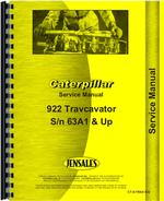 Service Manual for Caterpillar 153 Hydraulic Control Attachment