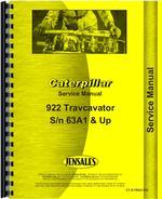 Service Manual for Caterpillar 153 Hydraulic Control Attachment