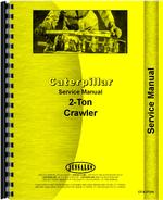 Service Manual for Caterpillar 2-Ton Crawler