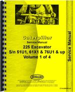 Service Manual for Caterpillar 225 Excavator