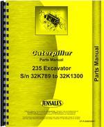 Parts Manual for Caterpillar 235 Excavator