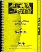 Service Manual for Caterpillar 30 Crawler