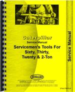 Service Manual for Caterpillar 30 Crawler Tools