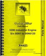 Parts Manual for Caterpillar 3208 Engine
