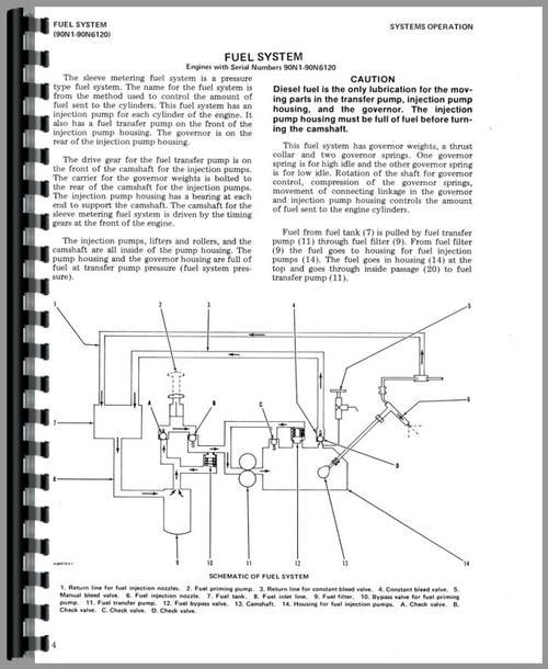 caterpillar 3208 engine service manual service manual for caterpillar 3208 engine sample page from manual