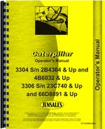 Operators Manual for Caterpillar 3304 Engine