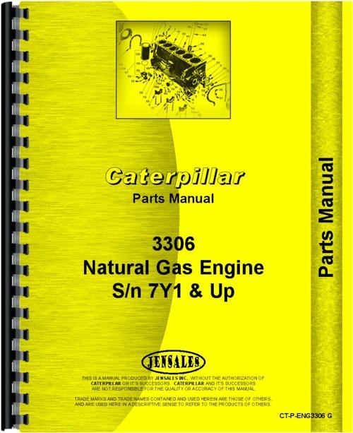 Caterpillar 3306 Engine Parts Manual