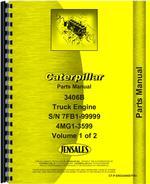 Parts Manual for Caterpillar 3406B Engine
