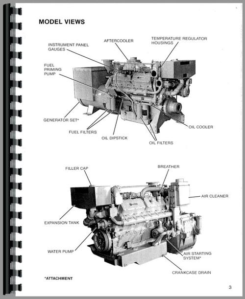 Service Manual for Caterpillar 3412 Engine Sample Page From Manual