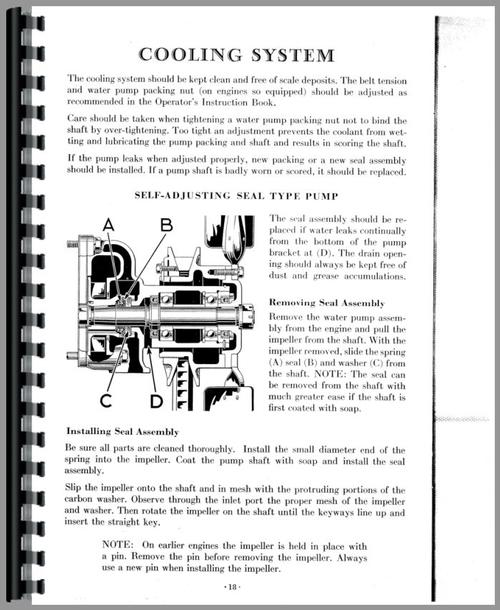 Service Manual for Caterpillar 35 Engine Sample Page From Manual