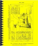 Parts Manual for Caterpillar 4A Bulldozer Attachment