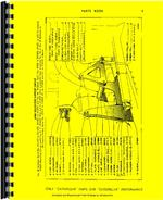 Parts Manual for Caterpillar 4S Bulldozer Attachment