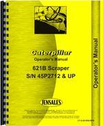 Operators Manual for Caterpillar 621B Tractor Scraper