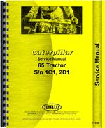 Service Manual for Caterpillar 65 Crawler