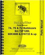 Parts Manual for Caterpillar 7U Bulldozer Attachment