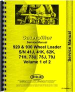Service Manual for Caterpillar 920 Wheel Loader