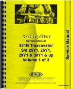 Service Manual for Caterpillar 931B Traxcavator