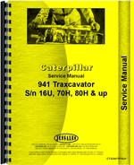 Service Manual for Caterpillar 941 Traxcavator