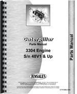Parts Manual for Caterpillar 941B Traxcavator Engine