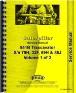Service Manual for Caterpillar 951B Traxcavator