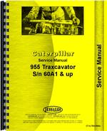 Service Manual for Caterpillar 955 Traxcavator